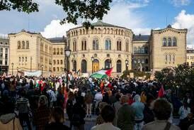 Frp-topp anmelder Palestina-demonstrasjon i Oslo