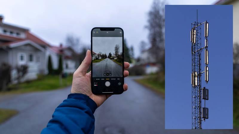 «TV-en står på, og reklame for Telenor skryter av super dekning og utbygging av 5G. Nå er det like før jeg kaster mobilen på TV-skjermen.», skriver en frustrert Ulf Tolfsen.