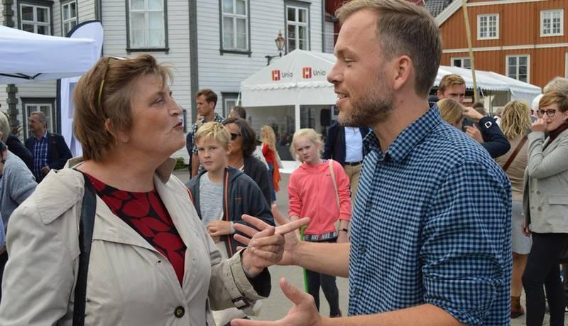 Forfatter Elin Ørjasæter og SV-leder Audun Lysbakken pleier å være uenige i det meste. Denne gangen har de funnet tonen.