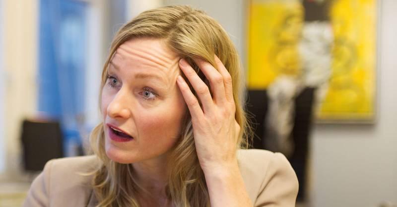 Byråd for eldre-, helse- og sosialtjenester i Oslo kommune, Inga Marte Thorkildsen, tror en åpen kultur rundt feil som blir gjort vil føre til at flere vil melde avvik. Det har vært tilfelle i Trondheim komune. FOTO: ARNE OVE BERGO