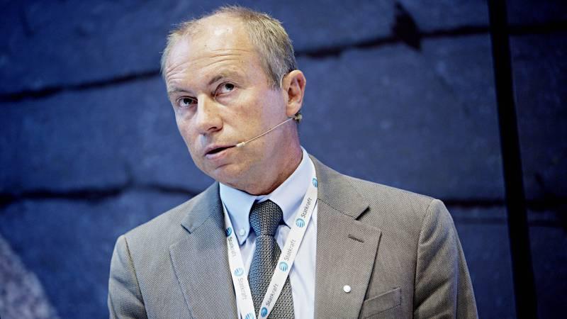 Christian Rynning-Tønnesen i statkraft er lønnsvinner blant toppen i statsselskapene. Han håvet i fjor inn 4.838.030 kroner, en økning på økning 185.030 fra året før. FOTO: NTB scanpix