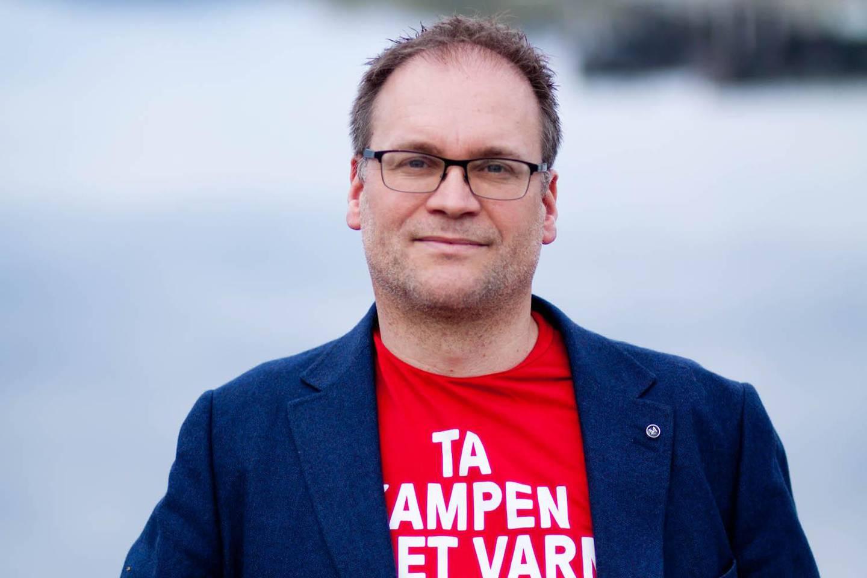 Roger Kristensen i Fagforbundet.
