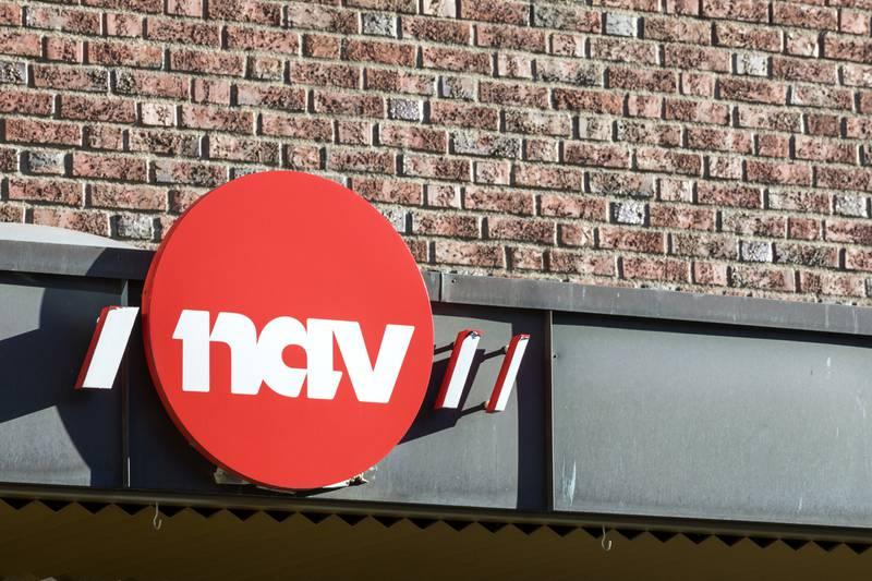Oslo  20190228. Illustrasjonsbilder: NAV skilt.  Foto: Gorm Kallestad / NTB