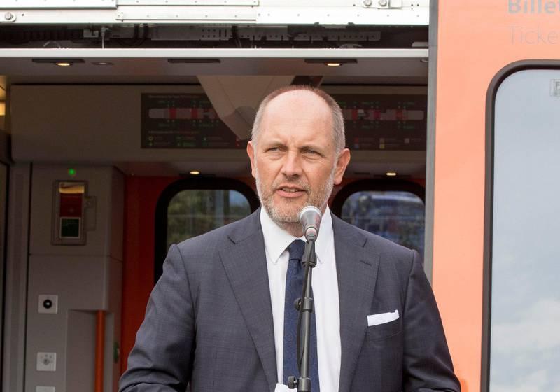 – Vi er klare til å gå i markedet så fort vi har et klarsignal, sier Øystein Risan om planene om nye togkjøp.