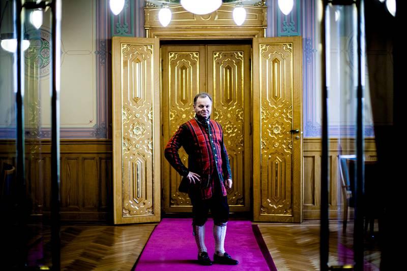 Stortingspresident Olemic Thommessen er frimurer. Foto: Wanda Nathalie Nordstrøm