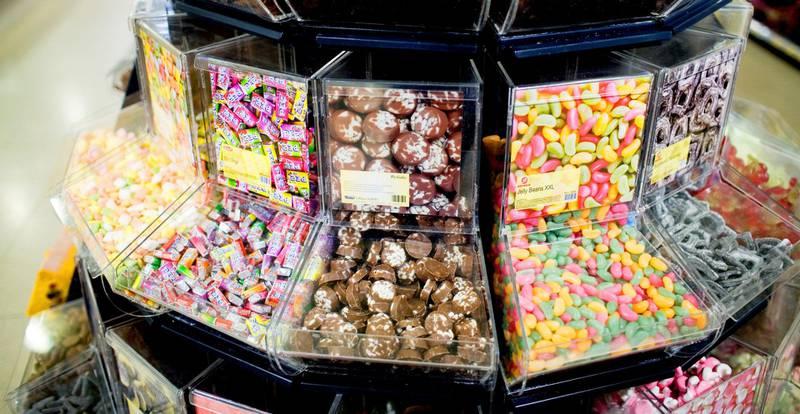 farlige fristelser: At sukker er skadelig for helsen, er viden kjent. Forskning viser at det også kan skade dine   barns smaksløker på lang sikt. Illustrasjonsfoto: Sara Johannessen/NTB SCANPIX