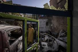Afghansk sinne etter at amerikansk droneangrep rammet sivile