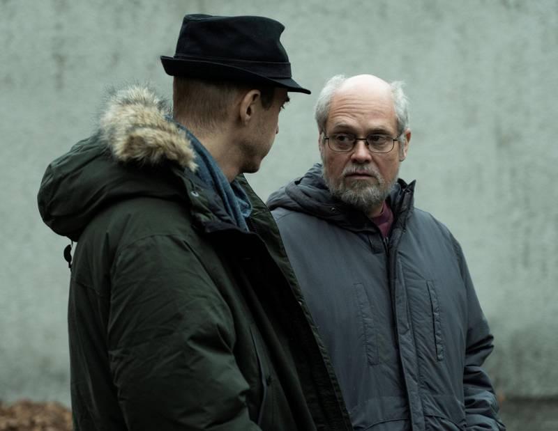 Skuespiller David Dencik (til høyre) tok selv initiativet til «Quick»-filmen, og gjør et veldig overbevisende portrett av Sture Bergwall.