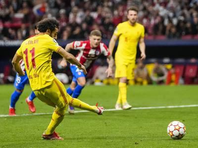 Liverpool vant 3-2 mot ti Atlético-spillere – Griezmann scoret to og ble utvist