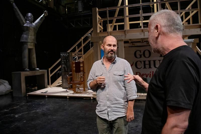 Bestialitetens historie av Jens Bjørneboe. Regi: Ivica Buljan. Det Norske Teatret på Scene 2. Teatersjef Erik Ulfsby.