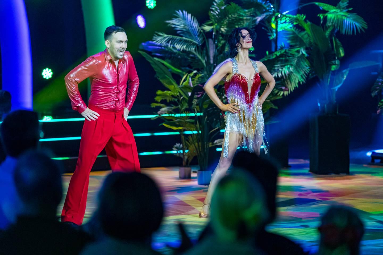 Dennis Vareide og Lillian Aasebø. Skal vi danse - program 02 2021.