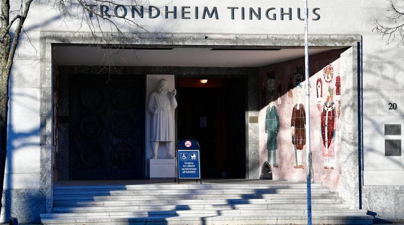 Trondheim  20190306. Johannes Høsflot Klæbo må i dag forklare seg for retten i forbindelse med bilkrasjen på byåsen i 2018. Foto: Ole Martin Wold / NTB
