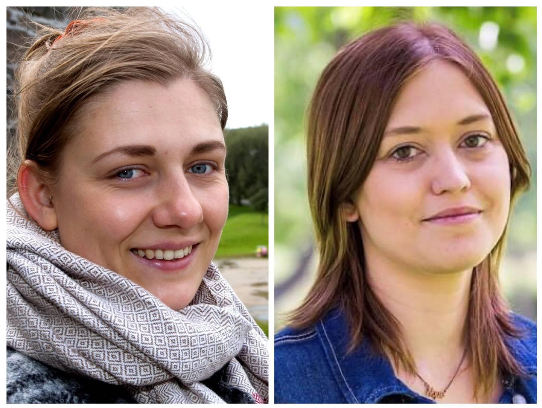 Hannah Berg, gruppeleder og 1. kandidat til stortinget fra Rødt og Sol Skipnes, lagsleder Rødt Fredrikstad.