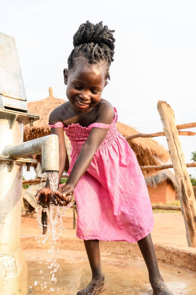 Champo (5) er en av mange som har fått et nytt liv med rent vann, takket være norsk giverglede.