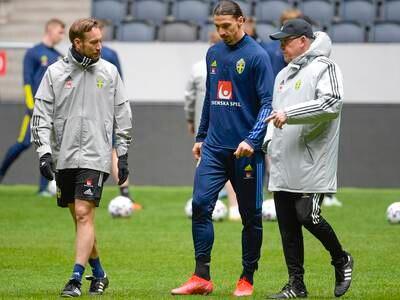 Sveriges landslagssjef: – Zlatan spiller ikke EM