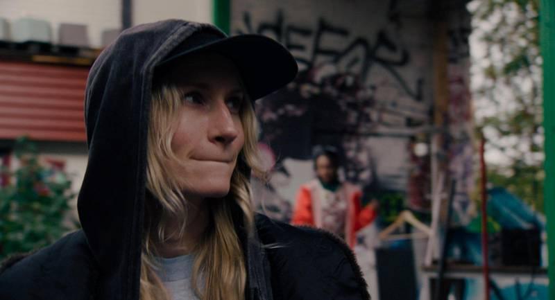 Birgitte Larsen som Gritt i spillefilmen «Gritt»