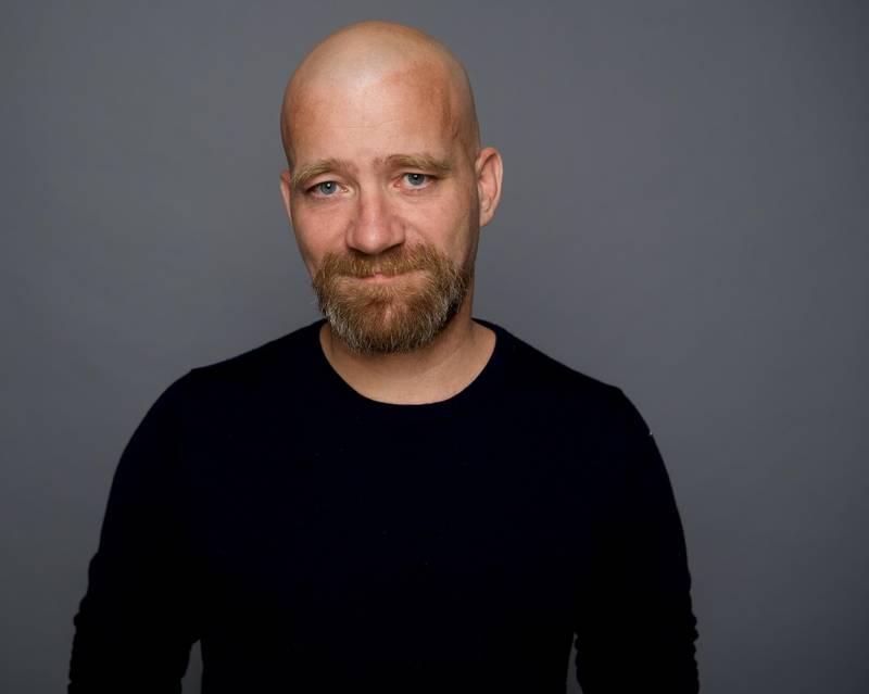 Oslo 20201026.  Mats Tangestuen, faglig leder ved Jødisk Museum i Oslo. Foto: Ragnhild Elnæs / Kolonihaven Studio / NTB