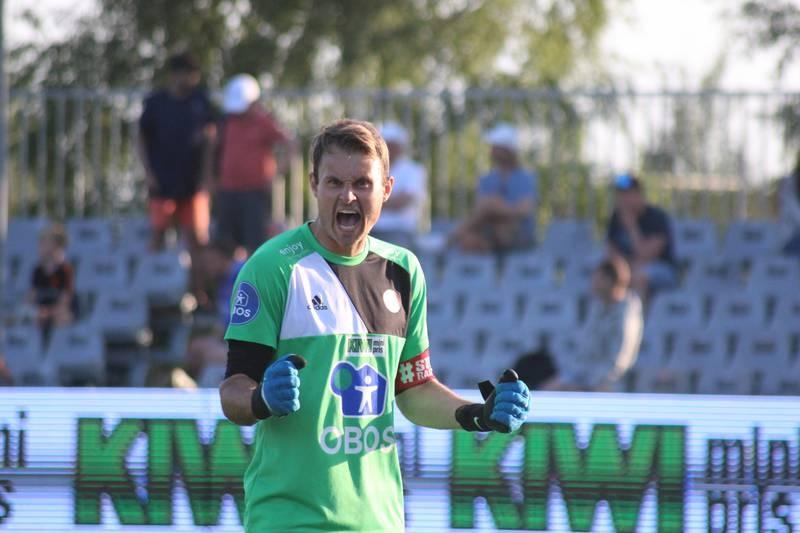 Knut André Skjærstein bidro sterkt til at KFUM tok alle tre poengene hjemme mot Åsane onsdag.