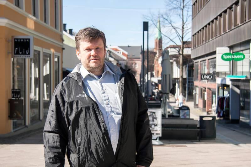 Sindre W. Mork, leder i Moss Venstre.
